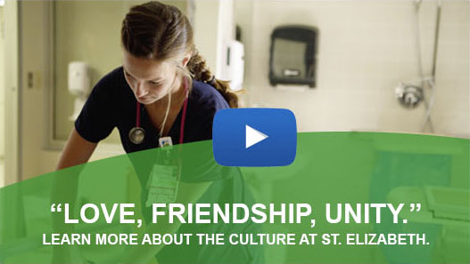 Watch our video to learn about the work culture at St. Elizabeth