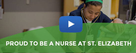 Watch our video to learn about nursing Nursing careers at St. Elizabeth